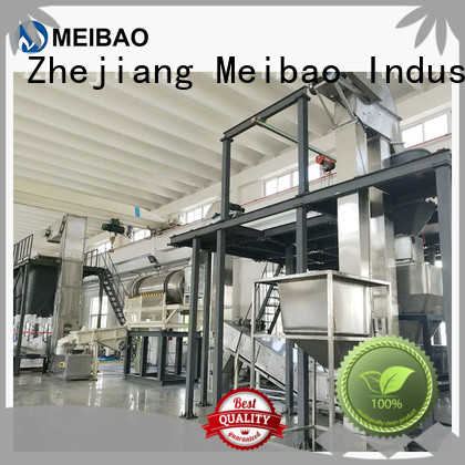 Meibao washing powder production line manufacturer for daily chemical