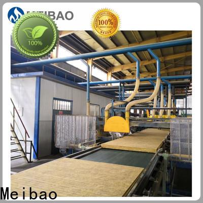 Meibao rockwool sandwich panel production line manufacturer for rock wool