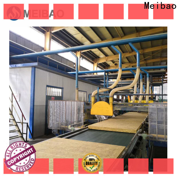 Meibao wholesale rock wool production line manufacturer for rock wool