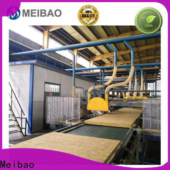 Meibao rock wool production line manufacturer for rock wool