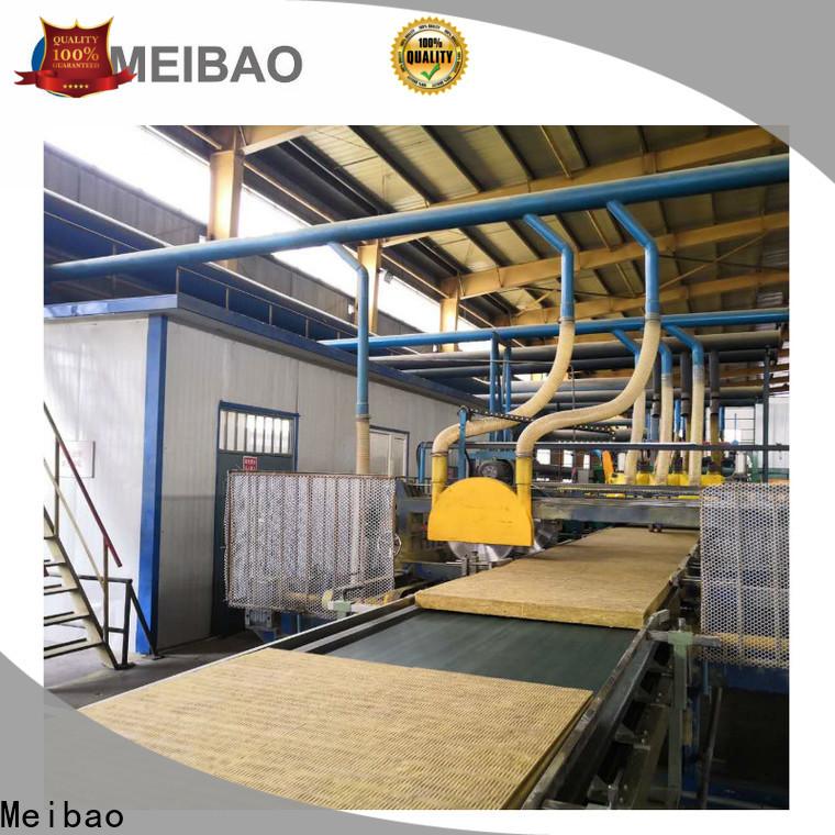 Meibao rockwool sandwich panel production line factory direct supply for rock wool