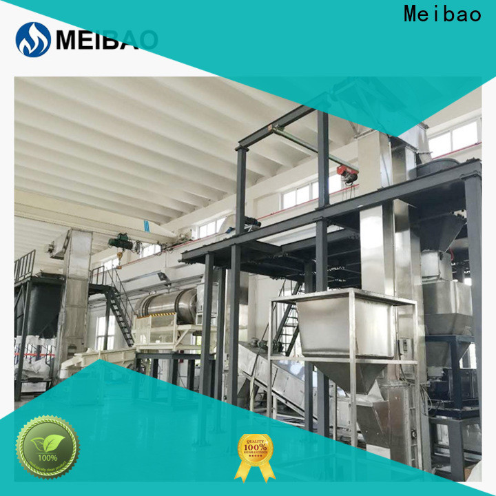 Meibao practical washing powder production line machine company for detergent industry