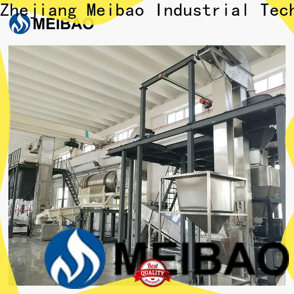 Meibao washing powder production line machine supplier for daily chemical